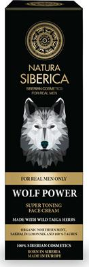NATURA SIBERICA MEN SUPER TONING FACE CREAM WOLF POWER 50 ML